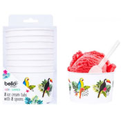 Aloha Design Ice Cream Tubs With Spoon