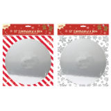 12 Inch Cakeboard And Box Festive Design