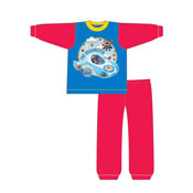 Boys Toddler Go Jetters Vroomster Snuggle Fit Pyjama