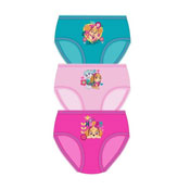 Official Girls Paw Patrol Happy Briefs 3 Pack