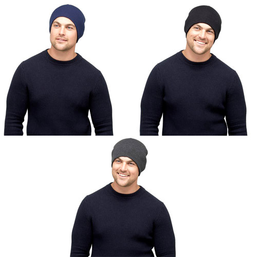 Mens Thermal Beanie Hat