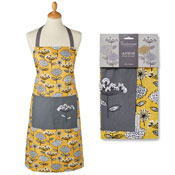 Retro Meadow Cotton Apron