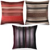 Assorted Broad-Stripe Cushions