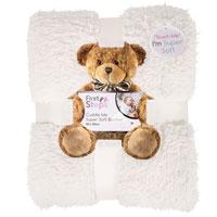 Baby Sherpa Blanket Cream