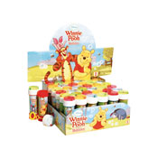 Official Winnie The Pooh Novelty Soap Bubbles