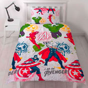 Marvel Avengers Mission Reversible Duvet Set