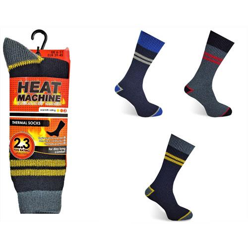 Heat Machine Thermal Socks Ruff n Tuff Workwear 2.3 Tog