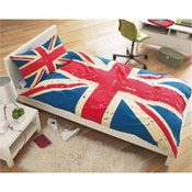 Union Jack Duvet Set Single