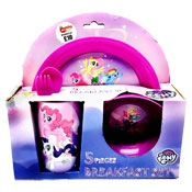 My Little Pony 5 Piece Breakfast Set