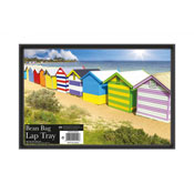 Beach Hut Bean Bag Lap Tray