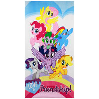 Official My Little Pony Friendship Beach Towel