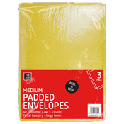 Medium Padded Envelopes 3 Pack