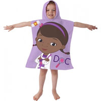 Official Disney Doc McStuffins Towel Poncho