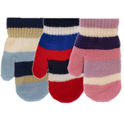 Kids Stripe Magic Mittens
