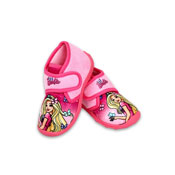 Official Disney Barbie Slippers Pink