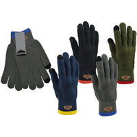 Mens Pro Hike Waffle Knitted Gloves