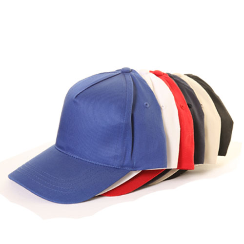 Assorted 5 Panel Baseball Cap Ideal for Printing