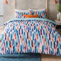 Watercolour Stripes Duvet Set