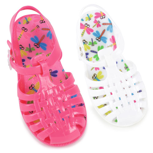 Children Closed Jelly Sandals