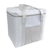 Jumbo Insulated Cooler Bag Geo Design