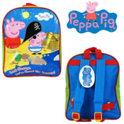 Official Peppa Pig George Treasure Junior Backpack
