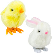 Easter Hopping Character Bunny/Chick Toy