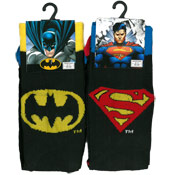 DC Comics Batman and Superman Mens Socks
