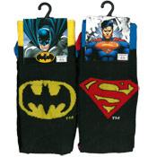 DC Comics Batman and Superman Mens Socks