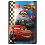 Official Cars Lightning McQueen Character Fleece Blanket Throw