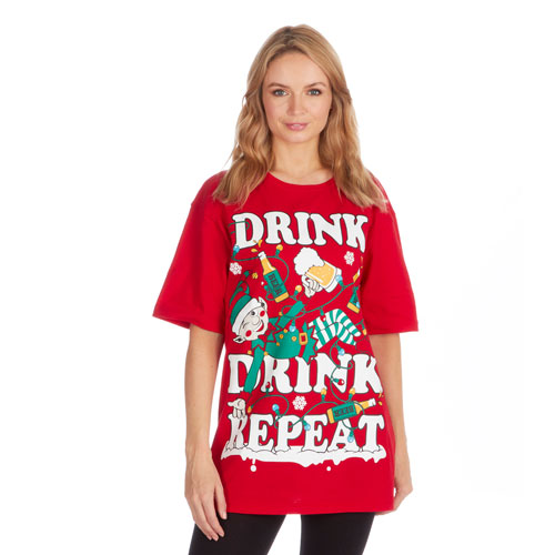 Christmas T-Shirt Red Elf