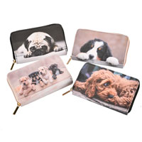 Long Purse Assorted Dogs