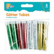 Glitter Tubes 8 Pack