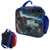 Official Iron Spiderman Lunchbag With Shoulder Strap