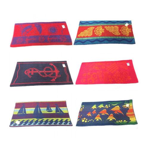 Jacquard Assorted Designs Beach Towel
