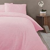 Super Soft Teddy Sherpa Duvet Set Soft Pink