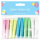 Easter Craft Glitter Set 10 Pack