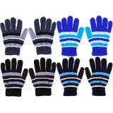 Boys Striped Magic Gloves