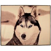 Luxury Flannel Animal Blanket Mountain Wolf