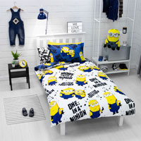 Official Minions 2 Spray Duvet Set