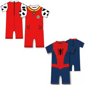 Boys UV Swim Suit Assorted