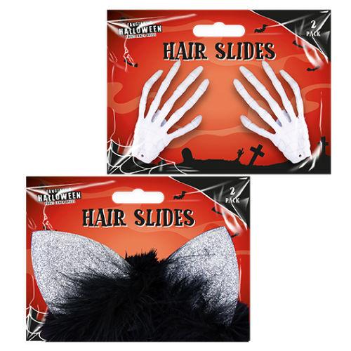 Halloween 3D Hair Slides