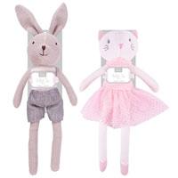 Hugs & Kisses Knitted Toys