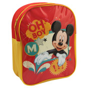 "Mickey Mouse Character Backpack ""Oh Boy"""