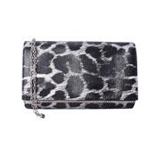 Julia Animal Printed Bag Grey Leopard