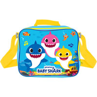 Official Baby Shark Lunchbag With Shoulder Strap