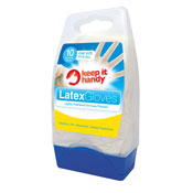 Latex Gloves 10 Pack