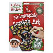 Christmas Elf Holographic Scratch Art Set
