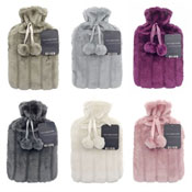 Luxury Faux Fur Hot Water Bottles