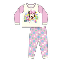 Baby Girls Official Minnie Mouse Pyjamas