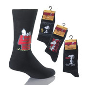 Mens Snoopy Socks